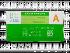 Biotrue ONEday for Astigmatism (30 lentile)
