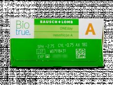Biotrue ONEday for Astigmatism (90 lentile)