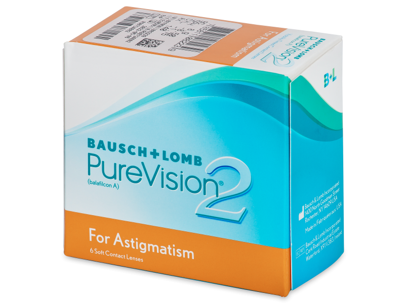 PureVision 2 for Astigmatism (6 lentile)