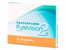 PureVision 2 for Astigmatism (3 lentile)