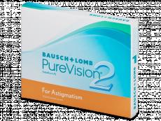 PureVision 2 for Astigmatism (3lentile)