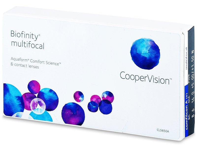Biofinity Multifocal (6lentile)