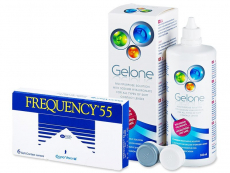 Frequency 55 (6lentile) +solutieGelone360ml
