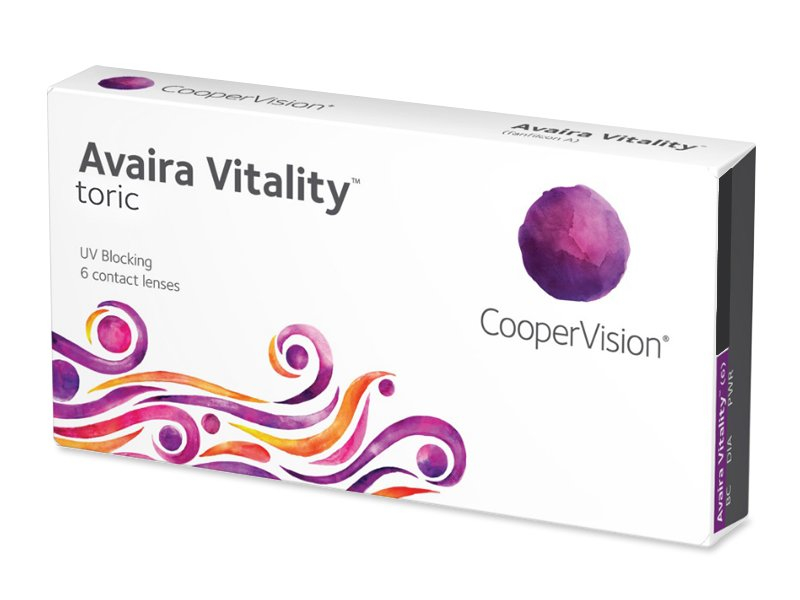 Avaira Vitality Toric (6 lentile)