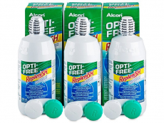 Soluție OPTI-FREE RepleniSH 3 x 300 ml