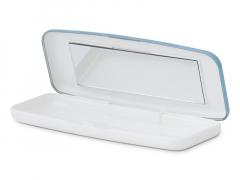 Casetă pentru lentile de unică folosintă - albastra