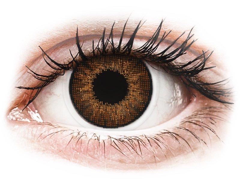 Air Optix Colors - Brown - fără dioptrie (2 lentile)