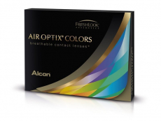 Air Optix Colors - Gemstone Green - fără dioptrie (2 lentile)