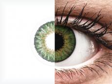 Air Optix Colors - Green - cu dioptrie (2lentile)