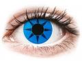 Alți producători de lentile de contact - ColourVUE Crazy Lens - Blue Star - fără dioptrie (2 lentile)