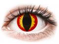 Alți producători de lentile de contact - ColourVUE Crazy Lens - Dragon Eyes - fără dioptrie (2 lentile)