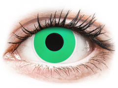 ColourVUE Crazy Lens - Emerald (Green) - fără dioptrie (2 lentile)