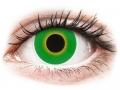 Alți producători de lentile de contact - ColourVUE Crazy Lens - Hulk Green - fără dioptrie (2 lentile)