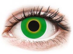 ColourVUE Crazy Lens - Hulk Green - fără dioptrie (2 lentile)
