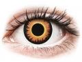Alți producători de lentile de contact - ColourVUE Crazy Lens - Orange Werewolf - fără dioptrie (2 lentile)