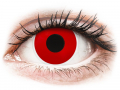 Alți producători de lentile de contact - ColourVUE Crazy Lens - Red Devil - fără dioptrie (2 lentile)