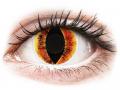 Alți producători de lentile de contact - ColourVUE Crazy Lens - Saurons Eye - fără dioptrie (2 lentile)