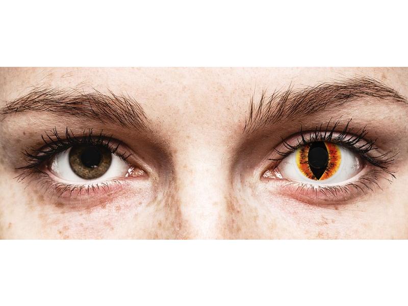 ColourVUE Crazy Lens - Saurons Eye - fără dioptrie (2 lentile)
