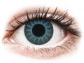 Alți producători de lentile de contact - ColourVUE Crazy Lens - Solar Blue - fără dioptrie (2 lentile)