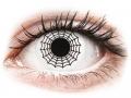 Alți producători de lentile de contact - ColourVUE Crazy Lens - Spider - fără dioptrie (2 lentile)