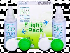 Soluție Biotrue 2 x 60 ml Flight Pack
