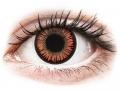 Alți producători de lentile de contact - ColourVUE Crazy Lens - Vampire - fără dioptrie (2 lentile)