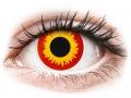 Alți producători de lentile de contact - ColourVUE Crazy Lens - Wildfire - fără dioptrie (2 lentile)