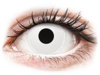 contact-lentile.ro - Lentile de contact - ColourVUE Crazy Lens - WhiteOut - fără dioptrie