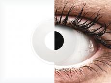 ColourVUE Crazy Lens - WhiteOut - fără dioptrie (2 lentile)