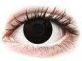 Alți producători de lentile de contact - ColourVUE Crazy Lens - BlackOut - cu dioptrie (2 lentile)