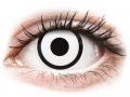 Alți producători de lentile de contact - ColourVUE Crazy Lens - White Zombie - cu dioptrie (2 lentile)