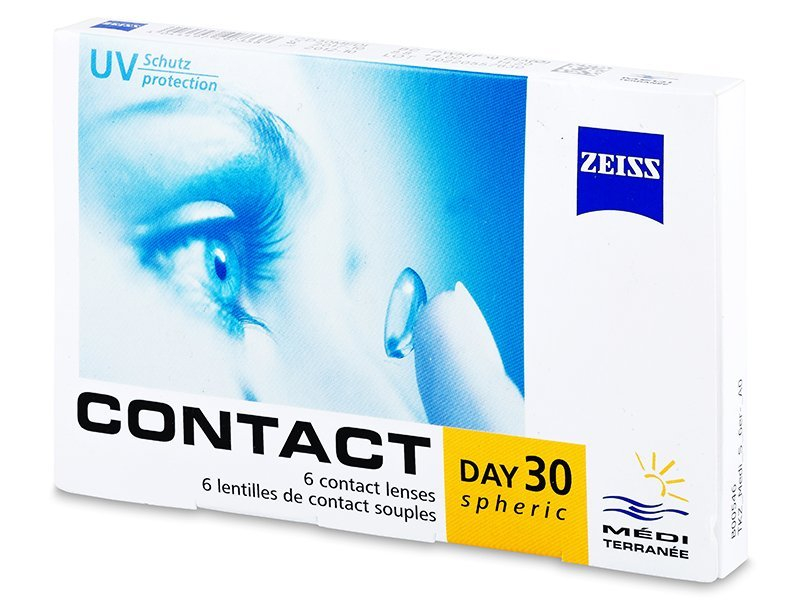 Carl Zeiss Contact Day 30 Spheric (6 lentile)