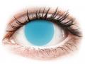 Alți producători de lentile de contact - ColourVUE Crazy Glow Electric Blue - fără dioptrie (2lentile)