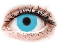 contact-lentile.ro - Lentile de contact - ColourVUE Crazy Glow Blue - fără dioptrie