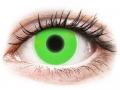 Alți producători de lentile de contact - ColourVUE Crazy Glow Green - fără dioptrie (2lentile)