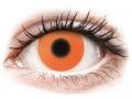 Alți producători de lentile de contact - ColourVUE Crazy Glow Orange - fără dioptrie (2lentile)