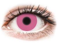 contact-lentile.ro - Lentile de contact - ColourVUE Crazy Glow Pink - fără dioptrie