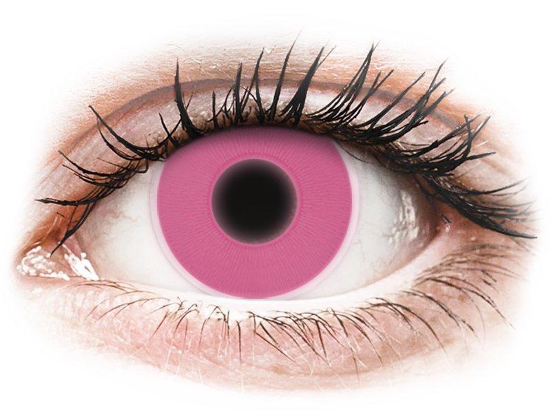 ColourVUE Crazy Glow Pink - fără dioptrie (2lentile)