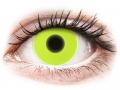 Alți producători de lentile de contact - ColourVUE Crazy Glow Yellow - fără dioptrie (2lentile)