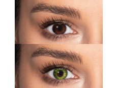 TopVue Color daily - Fresh green - cu dioptrie (10lentile)