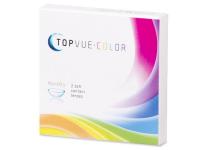 TopVue Color - Green - cu dioptrie (2lentile)