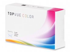 TopVue Color - Green - cu dioptrie (2 lentile)