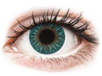 contact-lentile.ro - Lentile de contact - TopVue Color - Turquoise - cu dioptrie