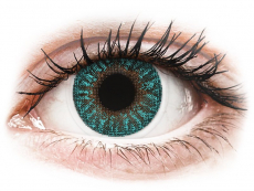 TopVue Color - Turquoise - cu dioptrie (2 lentile)