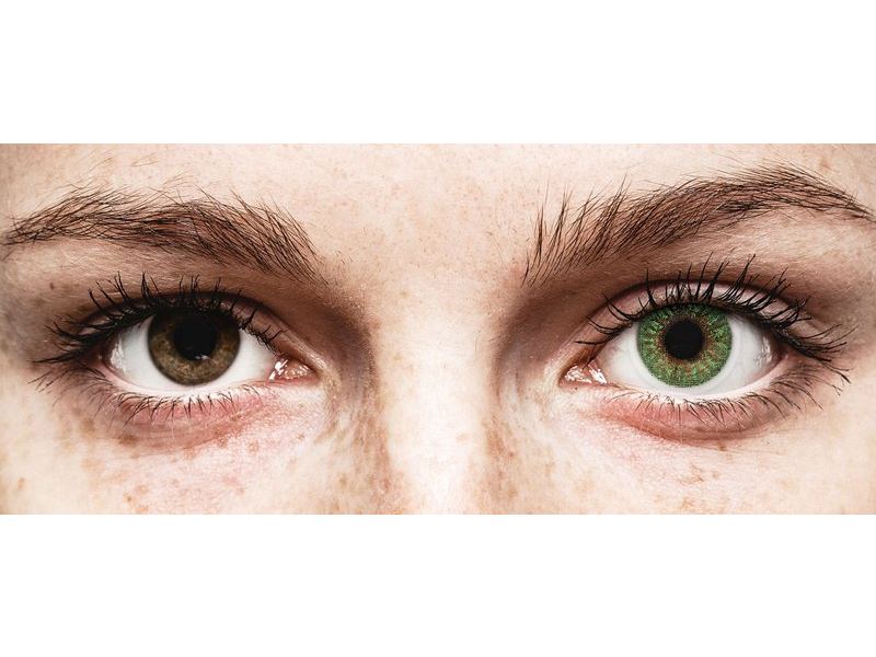 TopVue Color - Green - fără dioptrie (2 lentile)