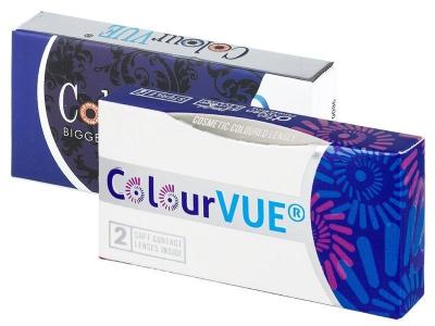 ColourVUE Glamour Aqua - fără dioptrie (2lentile)