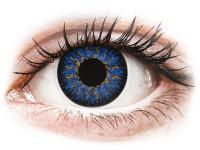 contact-lentile.ro - Lentile de contact - ColourVUE Glamour Blue - fără dioptrie