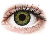 contact-lentile.ro - Lentile de contact - ColourVUE Glamour Green - fără dioptrie