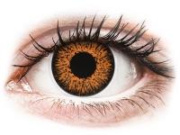 contact-lentile.ro - Lentile de contact - ColourVUE Glamour Honey - fără dioptrie