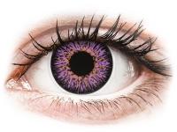 contact-lentile.ro - Lentile de contact - ColourVUE Glamour Violet - fără dioptrie
